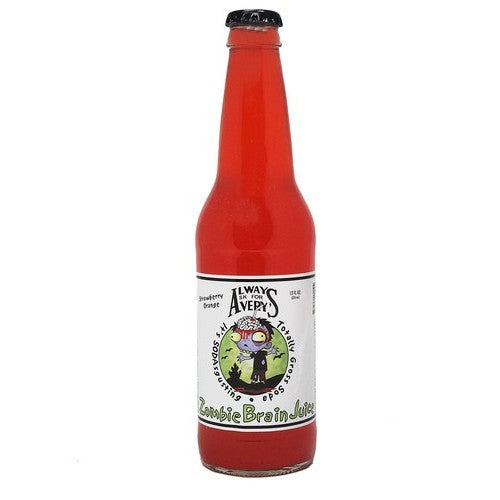 Avery Zombie Brain Juice Glass Bottle Soda