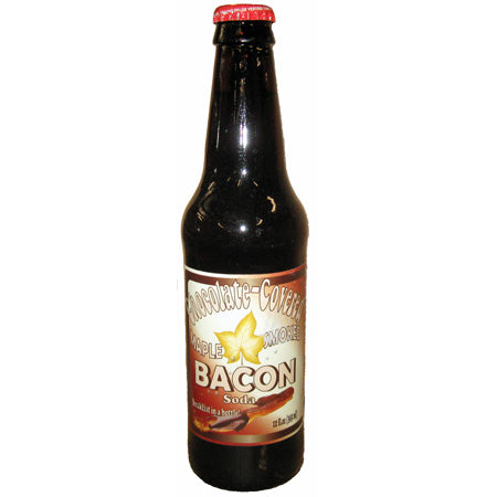 Chocolate Covered Maple Smoked Bacon Soda Blooms Candy