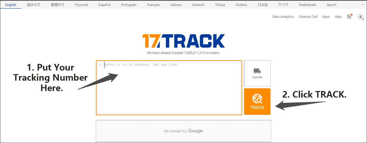 How to Track Your Parcel | Attapet.com ft. 17TRACK