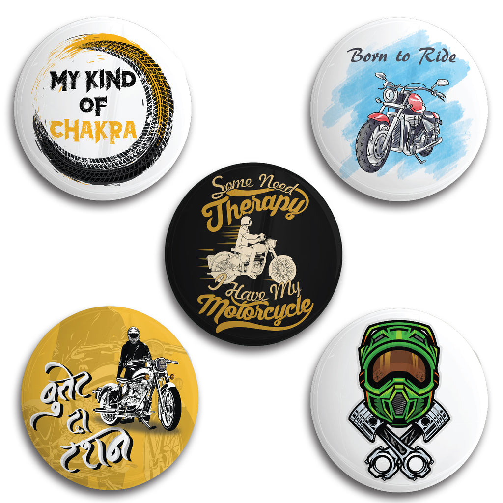 Biking Therapy Badge Combo