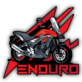 Enduro Sticker