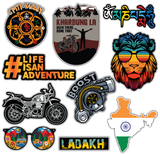 Ladakh Sticker Combo