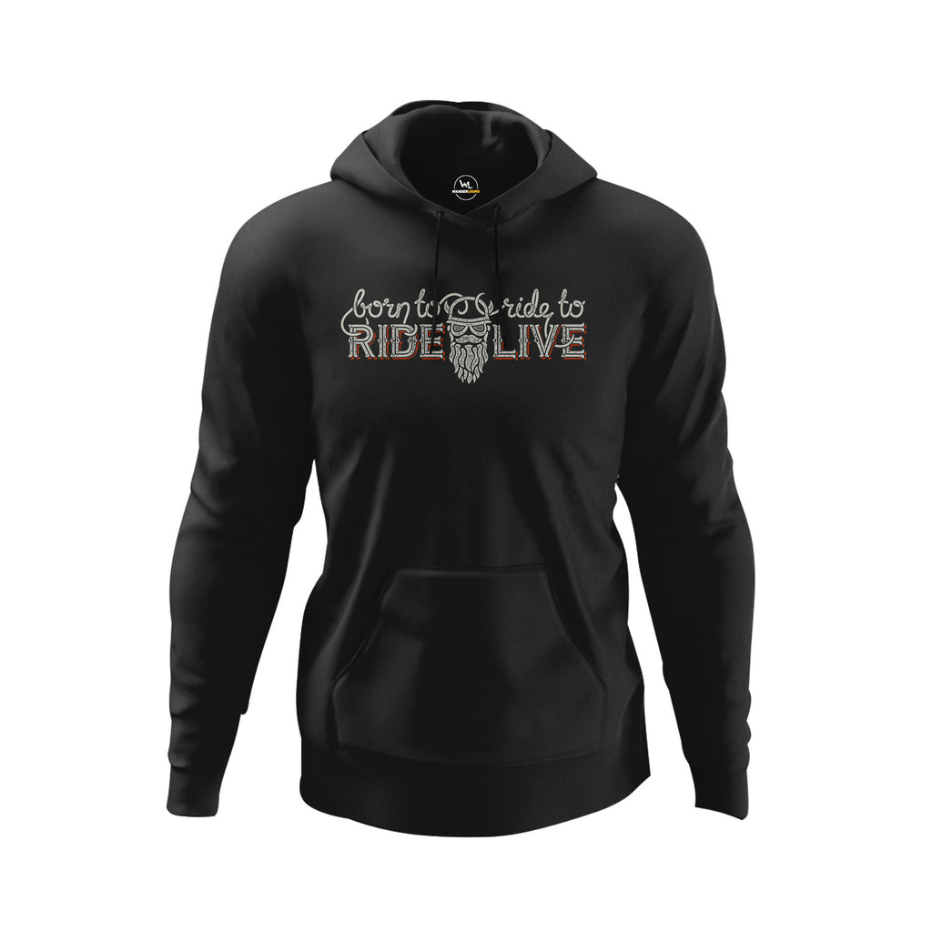 Ride To Live Hoodie