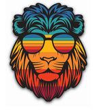 Trippy Simba Sticker