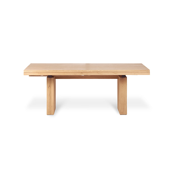 Oak Double Extendable Dining Table - Hausful - Modern Furniture, Lighting, Rugs and Accessories