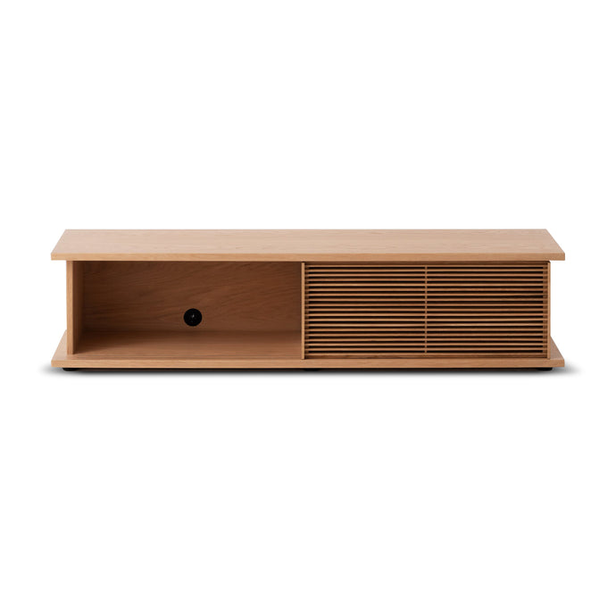 "Plank 65"" Slat Media Unit - Hausful - Modern Furniture, Lighting, Rugs and Accessories"