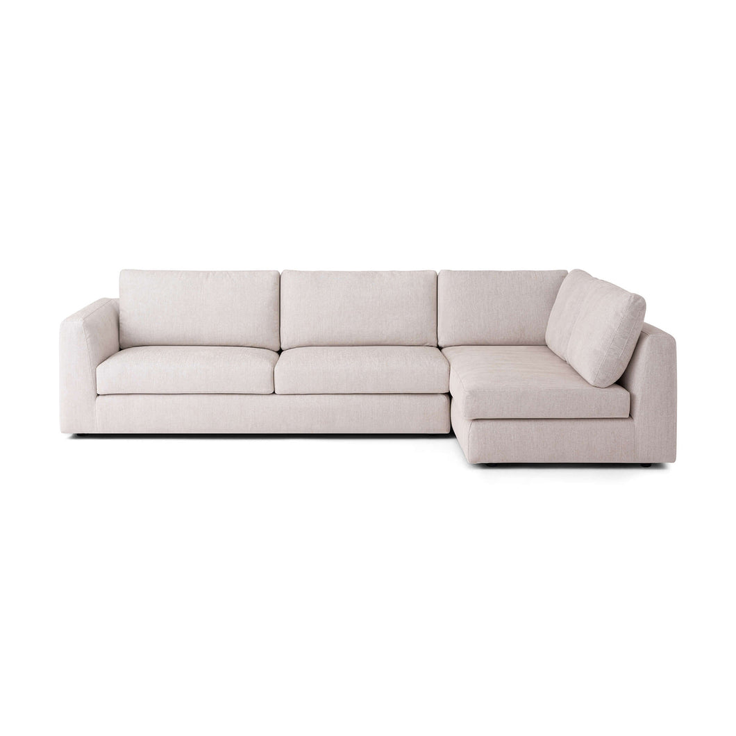 Cello 2-Piece Sectional Sofa with Full Arm Chaise - Hausful - Modern Furniture, Lighting, Rugs and Accessories