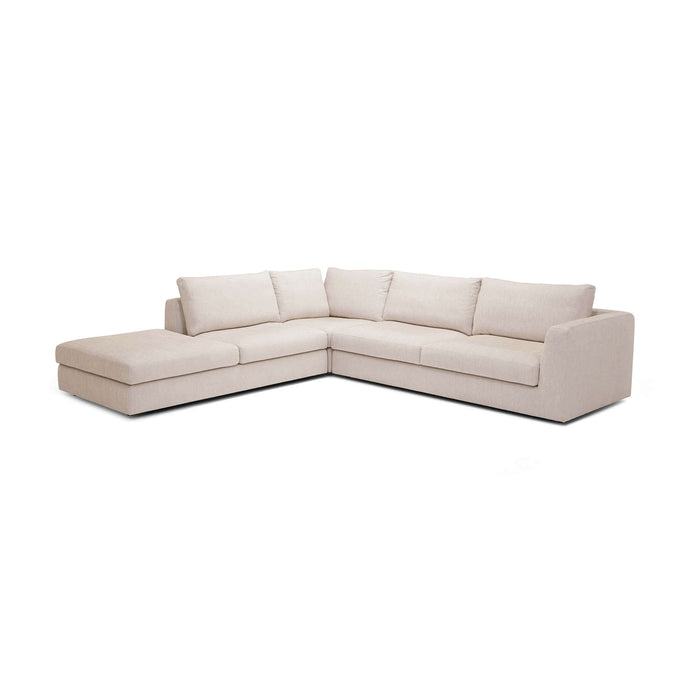 Cello 3-Piece Sectional Sofa with Backless Chaise - Hausful - Modern Furniture, Lighting, Rugs and Accessories