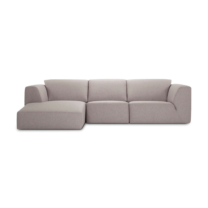 Morten Sectional Sofa with Chaise - Fabric - Hausful - Modern Furniture, Lighting, Rugs and Accessories