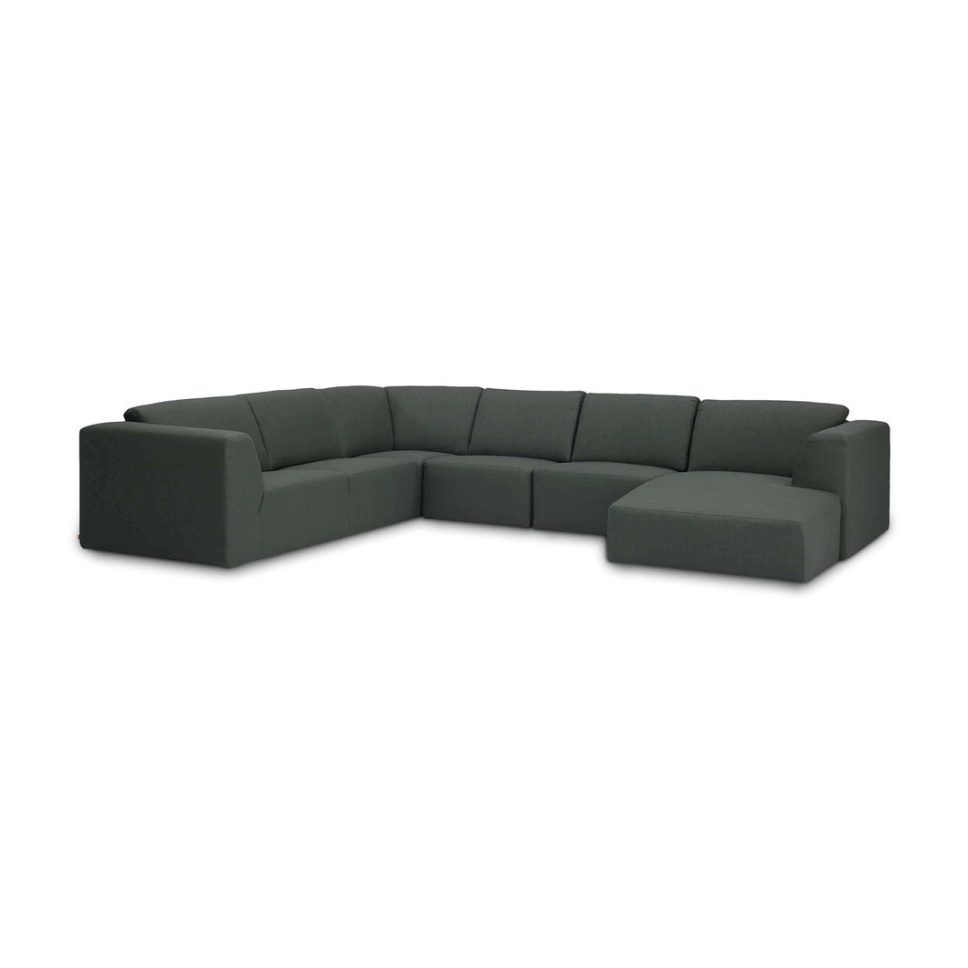 Morten Sectional Sofa with Chaise - Hausful - Modern Furniture, Lighting, Rugs and Accessories