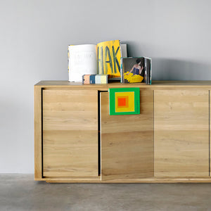 "Oak Shadow Sideboard - 80"" - Hausful - Modern Furniture, Lighting, Rugs and Accessories"