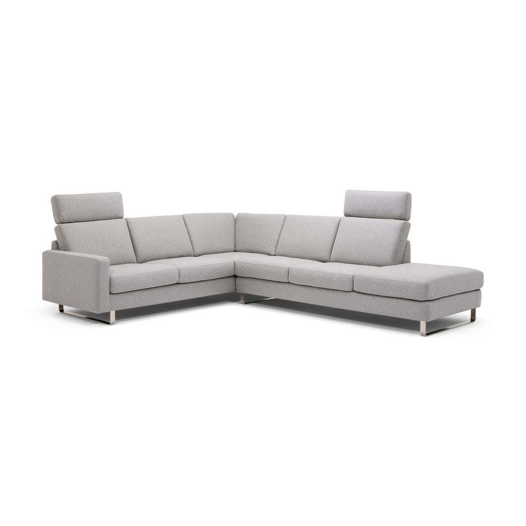 Oskar Slipcover Sectional Sofa with Headrests - Fabric - Hausful - Modern Furniture, Lighting, Rugs and Accessories