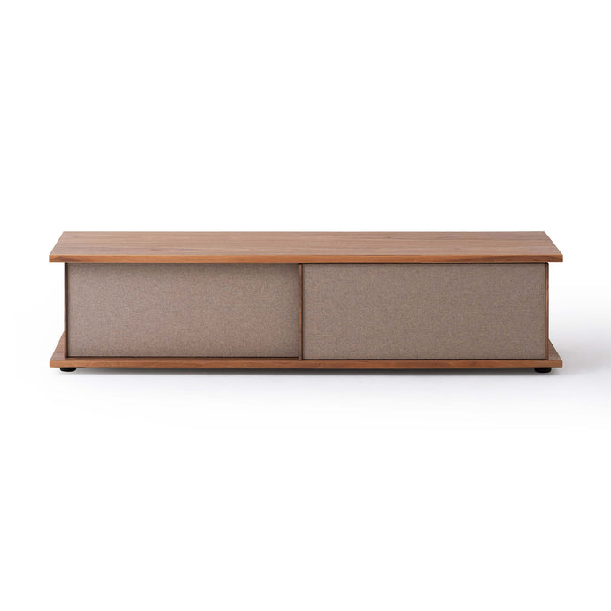 "Plank 65"" Upholstered Media Unit - Hausful - Modern Furniture, Lighting, Rugs and Accessories"