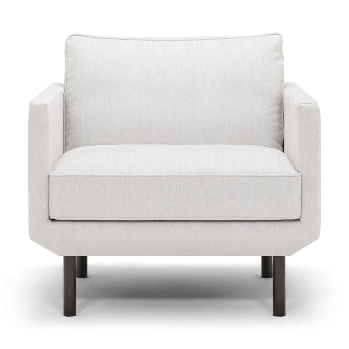 Plateau Club Chair -  Fabric - Hausful - Modern Furniture, Lighting, Rugs and Accessories