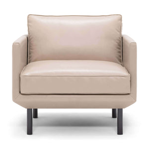 Plateau Club Chair - Leather - Hausful - Modern Furniture, Lighting, Rugs and Accessories