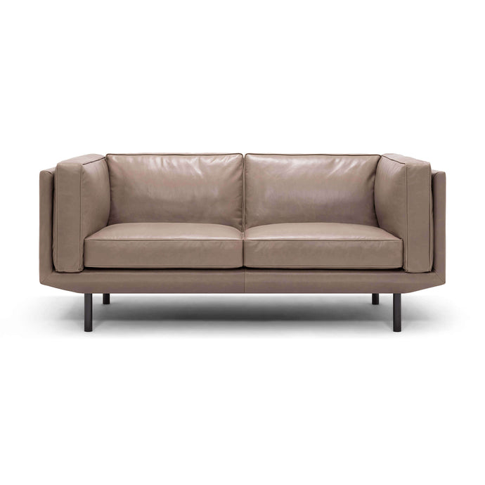 Plateau Loveseat - Leather - Hausful - Modern Furniture, Lighting, Rugs and Accessories