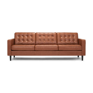 "Reverie 92"" Sofa - Leather - Hausful - Modern Furniture, Lighting, Rugs and Accessories"