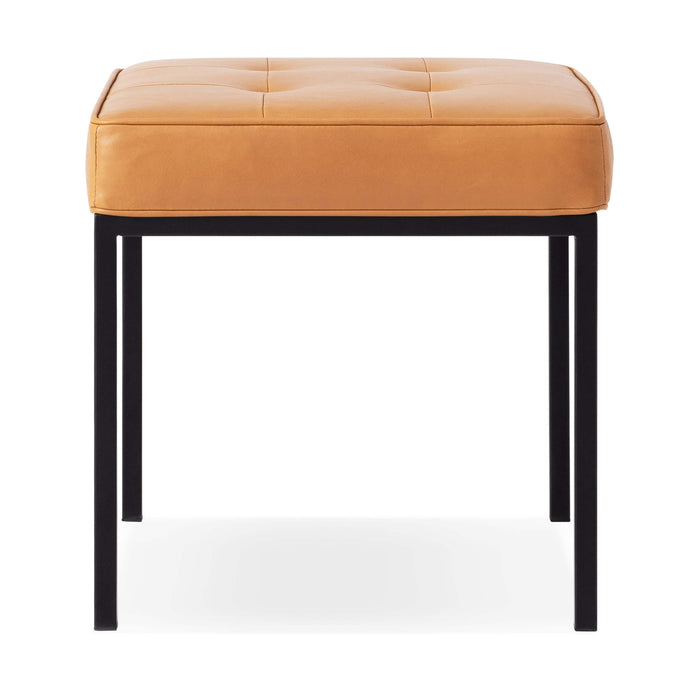 Bank Stool - Leather - Hausful - Modern Furniture, Lighting, Rugs and Accessories
