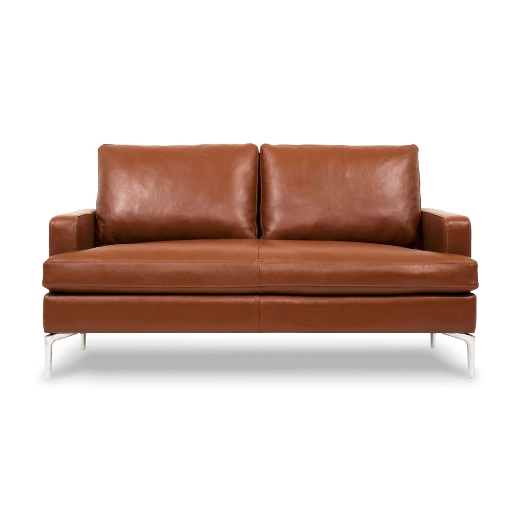 Eve Loveseat - Leather - Hausful - Modern Furniture, Lighting, Rugs and Accessories