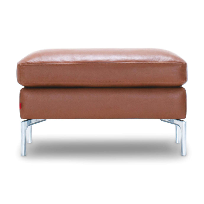 Eve Ottoman - Leather - Hausful - Modern Furniture, Lighting, Rugs and Accessories