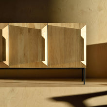 "Load image into Gallery viewer, Oak Stairs Sideboard - 59"" - Hausful - Modern Furniture, Lighting, Rugs and Accessories"