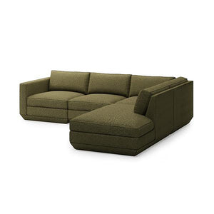 Podium 4PC Lounge Sectional A - Hausful - Modern Furniture, Lighting, Rugs and Accessories