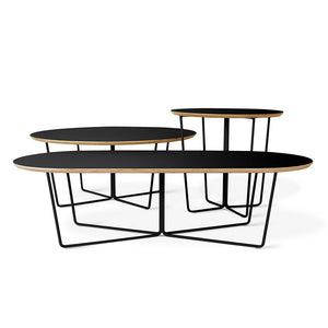 Array Coffee Table - Oval - Hausful - Modern Furniture, Lighting, Rugs and Accessories