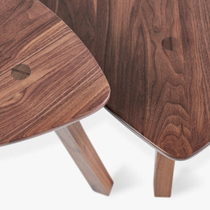 Solana Triangular End Table - Hausful - Modern Furniture, Lighting, Rugs and Accessories