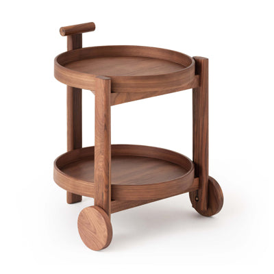 The Bar Cart - Walnut - Hausful - Modern Furniture, Lighting, Rugs and Accessories