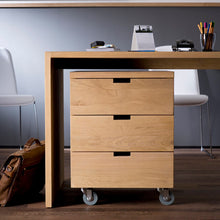Load image into Gallery viewer, Oak Billy Drawer Unit - Hausful - Modern Furniture, Lighting, Rugs and Accessories