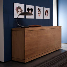 "Load image into Gallery viewer, Oak Burger Sideboard - 79"" - Hausful - Modern Furniture, Lighting, Rugs and Accessories"