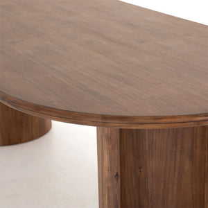 Crescent Dining Table - Hausful - Modern Furniture, Lighting, Rugs and Accessories