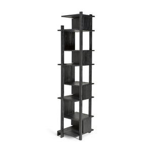 Teak Abstract Black Column - Hausful - Modern Furniture, Lighting, Rugs and Accessories