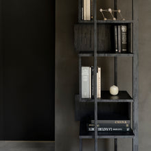 Load image into Gallery viewer, Teak Abstract Black Column - Hausful - Modern Furniture, Lighting, Rugs and Accessories