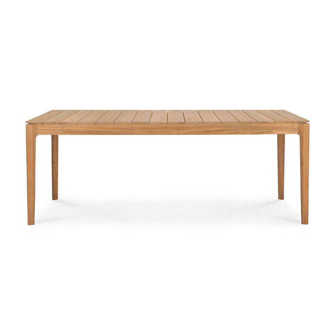 Teak Bok Outdoor Dining Table - Hausful - Modern Furniture, Lighting, Rugs and Accessories