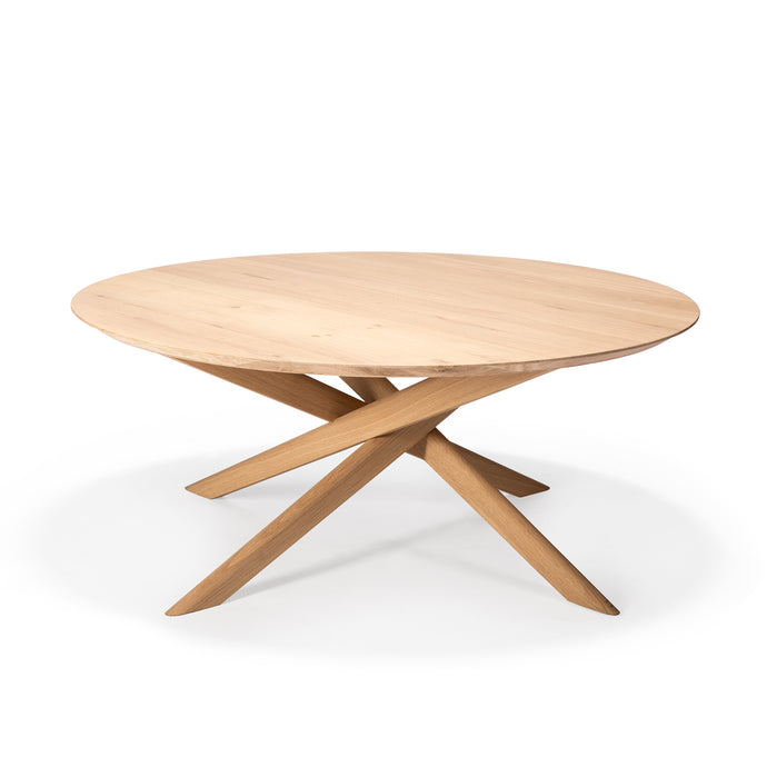 Oak Mikado Coffee Table - Oval - Hausful - Modern Furniture, Lighting, Rugs and Accessories