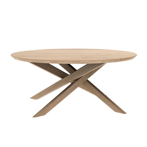 Oak Mikado Coffee Table - Round - Hausful - Modern Furniture, Lighting, Rugs and Accessories