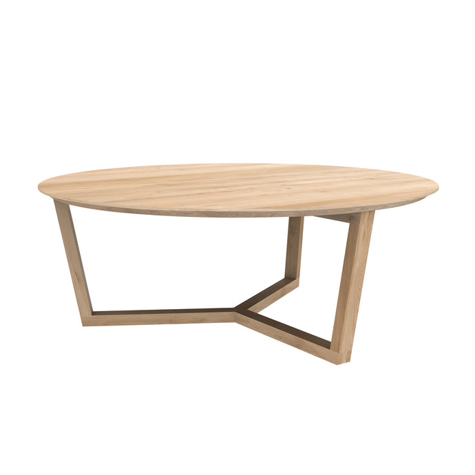 Oak Tripod Coffee Table - Hausful - Modern Furniture, Lighting, Rugs and Accessories