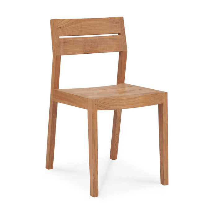 Teak EX 1 Outdoor Dining Chair - Hausful - Modern Furniture, Lighting, Rugs and Accessories