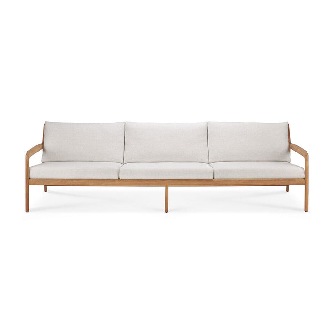 Teak Jack Outdoor Sofa - 3 seater - Hausful - Modern Furniture, Lighting, Rugs and Accessories