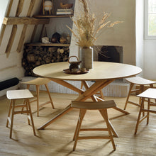 Load image into Gallery viewer, Oak Mikado Round Dining Table - Hausful - Modern Furniture, Lighting, Rugs and Accessories