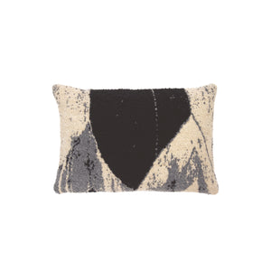 Nero Chevron Cushion - Lumbar - Hausful - Modern Furniture, Lighting, Rugs and Accessories