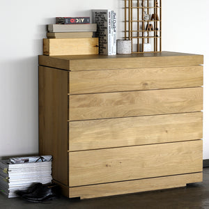 Oak Burger Chest of Drawers - Hausful - Modern Furniture, Lighting, Rugs and Accessories