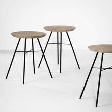 Load image into Gallery viewer, Oak Disc Stool - Hausful - Modern Furniture, Lighting, Rugs and Accessories