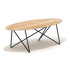 Oak Orb Coffee Table - Hausful - Modern Furniture, Lighting, Rugs and Accessories