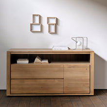 Load image into Gallery viewer, Oak Shadow Chest of Drawers - Hausful - Modern Furniture, Lighting, Rugs and Accessories