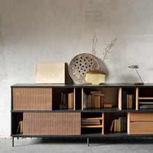 Load image into Gallery viewer, Teak Oscar Sideboard - Hausful - Modern Furniture, Lighting, Rugs and Accessories