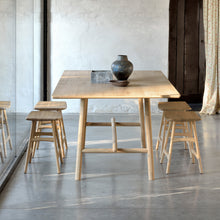 Load image into Gallery viewer, Oak Profile Dining Table - Hausful - Modern Furniture, Lighting, Rugs and Accessories