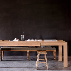 "Teak Slice Extendable Dining Table - 55"" to 87"" - Hausful - Modern Furniture, Lighting, Rugs and Accessories"
