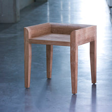Load image into Gallery viewer, Teak Cuba Stool - Hausful - Modern Furniture, Lighting, Rugs and Accessories